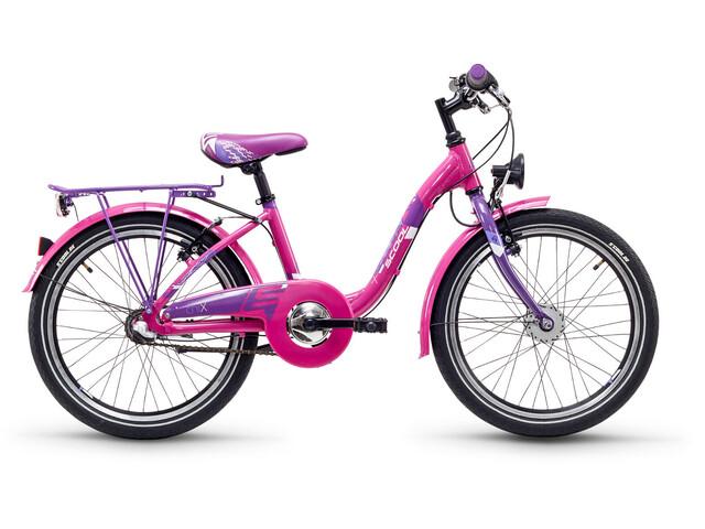 s'cool chiX 20 3-S steel Kinder pink